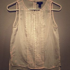 Women's small linen Gap tank top